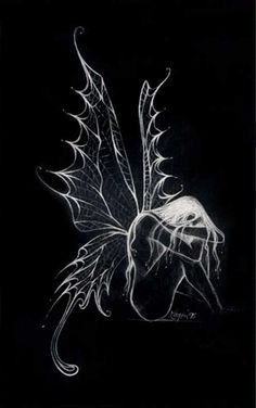 Repining this one just for the top wings.  sad-fairy-wings-magical.jpg 497×792 pixels