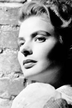 Ingrid Bergman, c. 1940s.