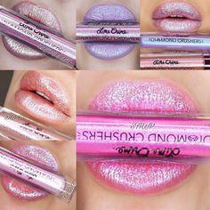 Los #DiamondCrushers le dan un toque diferente a tus labios #Lips #Lipstick #Labios #Makeup #Maquillaje #Glitter #LimeCrime