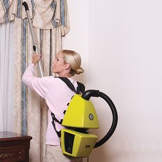 This would make me feel like one of the ghostbusters. O_O