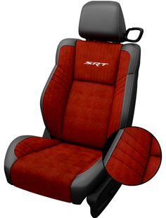 ruby red and black leather seats visit httpwwwjimclickdodgecom - 2015 Dodge Challenger Srt Hellcat Sepia Laguna Leather