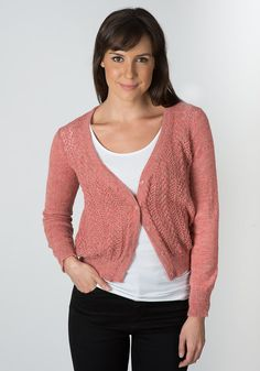 Sindy Alpaca Lace Cardigan