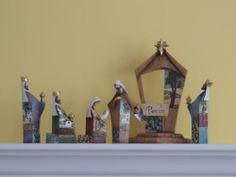 "12"" Tall Nativity Set | eBay"