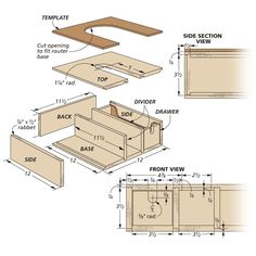 Router Stand   Woodsmith Tips