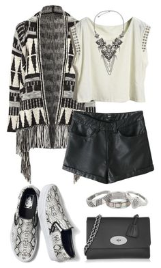 """""""Sans titre #3114"""" by celyana ❤ liked on Polyvore featuring Jane Norman, Matthew Williamson, Vans and Mulberry"""