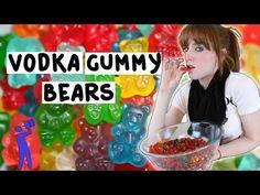 ▶ How to make Vodka Gummy Bears! - Tipsy Bartender - YouTube. Orange kamikaze flavor