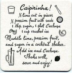 brazil's national cocktail. delicious! (rio de janeiro) #travelcolorfully