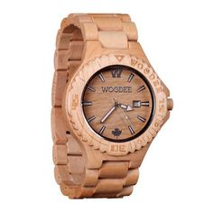 Sequoia Watch Maple, $149, now featured on Fab.
