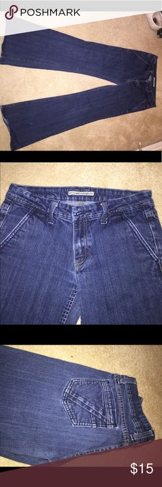 Anoname jeans Worn a few times! Very cute flared jeans fit very well Anoname Jeans Flare & Wide Leg