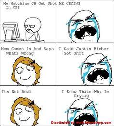 derp meme | Derp cries for Justin Bieber | Derp Derpina Internet Meme's Collection