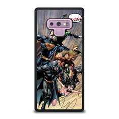 JUSTICE LEAGUE DC SUPERHEROES Samsung Galaxy Note 9 Case - Best Custom Phone Cover Cool Personalized Design – Favocase
