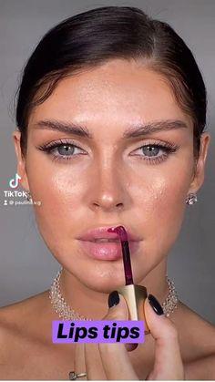 Makeup Inspo, Makeup Inspiration, Makeup Tips, Makeup Tutorials, Makeup Ideas, Cute Makeup, Simple Makeup, Makeup Looks, Lipstick Art