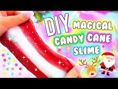 Best how to make slime without glue 5 Minute Crafts Hacks Videos - Easy Crafts for All Christmas Craft Projects, Christmas Crafts For Kids To Make, Christmas Fun, Holiday Fun, Fluffy Slime Recipe, Making Fluffy Slime, Homemade Slime, Diy Slime, Glue Slime