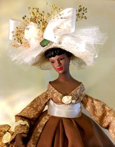 African American Art Doll Country Church Lady Virtuous Woman Proverbs 31 Handcrafted Black Art Doll