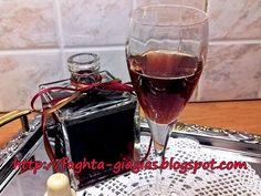 Λικέρ Βύσσινο με ολόκληρα τα φρούτα Cherry Brandy, Alcoholic Drinks, Cocktails, Red Wine, Homemade, Cooking, Recipes, Food, Kochen