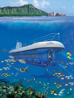 Honolulu Hawaii Submarine | Atlantis Adventures Submarine Tours Oahu in Honolulu, HI