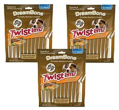 Dreambone Peanut Butter Chicken and Vegetable Twistemz Swirl Sticks 60 COUNT * You can get more details by clicking on the image. (This is an affiliate link) Chicken For Dogs, Small Chicken, Peanut Butter Chicken, Dog Food Recipes, Snack Recipes, Dog Bones, Dog Chews, Chicken And Vegetables