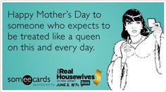Happy Mother's Day to the Queen...