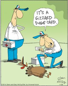 It's a gizzard donor card.