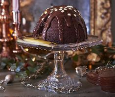 Giant melt-in-the-middle pudding