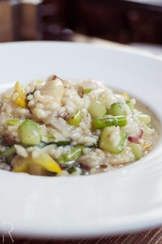 (Boston, MA) City Table: #Vegan Seasonal Vegetable Risotto with spinach, artichokes and rainbow chard