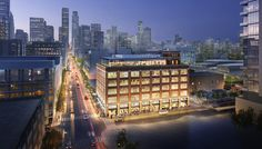 The Desmond Building project calls for the adaptive reuse of a vacant historic warehouse in the emerging South Park neighborhood within Downtown Los Angeles. Originally designed as an automobile showroom in 1916, the five-story brick building will be