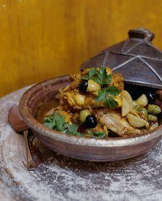 Classic Moroccan Chicken and Onion Tagine with Djaj Beldi