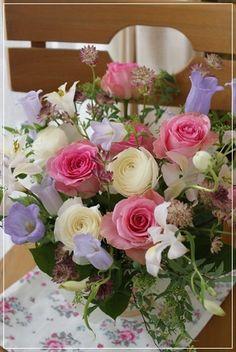 【今日の贈花】素敵なお花が届きました♪|Flower note の 花日記 (横浜・上大岡 アレンジメント教室)