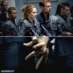 'Divergent' (2014): Stills - theo-james Photo