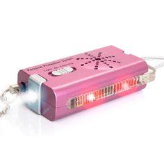 Brite-Strike Lightning Strike Personal Safety Alarm and Flashlight, Pink w/ Wrist Lanyard Strap Wrist Lanyard, Tactical Equipment, Personal Safety, Lightning Strikes, Disaster Preparedness, Oil And Gas, Led Flashlight, Car Ins