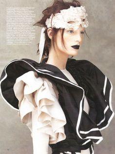 Iris Strubegger by Patrick Demarchelier