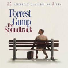 Forrest Gump: Original Motion Picture Soundtrack on Numbered Limited Edition 180g 3LP (Red, White, & Blue Vinyl)