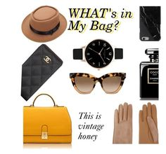 """this is vintage honey"" by zaynsoverdose ❤ liked on Polyvore featuring Florian London, Chanel, Valentino, Causse, Olivia Burton, vintage, women's clothing, women's fashion, women and female"