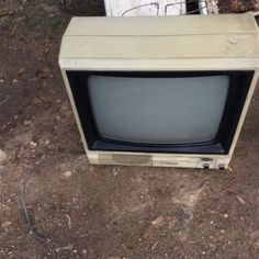 Vintage #portable  black & #white television (tv) prop #display,  View more on the LINK: http://www.zeppy.io/product/gb/2/252644900810/