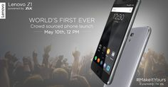 Lenovo Z1 will make its way to India on May 10 - https://www.aivanet.com/2016/05/lenovo-z1-will-make-its-way-to-india-on-may-10/