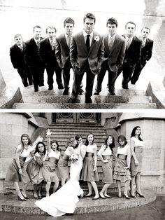 Very cool groomsmen image.