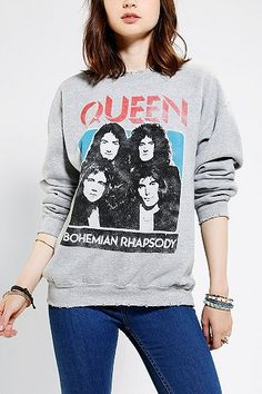 Queen Rock Band Sweatshirt