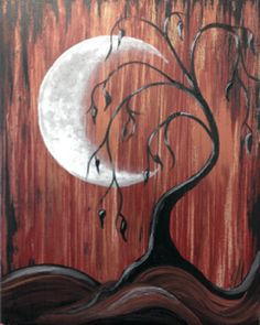 Join us for Moonlight Lament and create this intriguing painting using some fun new techniques.