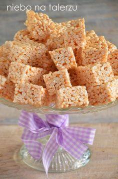 niebo na talerzu: Ciasto bez pieczenia - z ryżu preparowanego