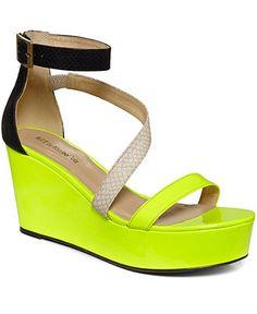 Barefoot Tess Shoes, Belize Platform Wedge Sandals - Espadrilles & Wedges - Shoes - Macys