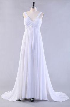 White Beach Wedding Dresses  $141.19