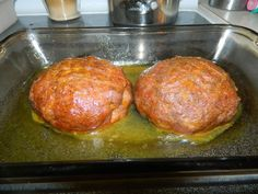 Homemade Vegan 'Ham' made in crockpot, finished w/ glaze in oven. Recipe from Chubby Vegan Mom