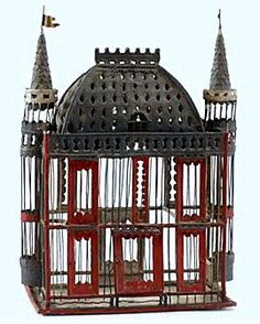 Birdcage Ideas: More At FOSTERGINGER @ Pinterest.