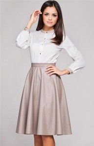 What To Wear With High Waist Skirt | Fashion Inspiration Blog