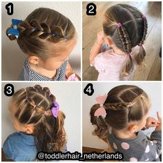 The Effective Pictures We Offer You About toddler hairstyles girl fine hair A quality picture can te Toddler Hair Dos, Easy Toddler Hairstyles, Easy Little Girl Hairstyles, Girls Hairdos, Cute Little Girl Hairstyles, Baby Girl Hairstyles, Princess Hairstyles, Braided Hairstyles, Hair Styles