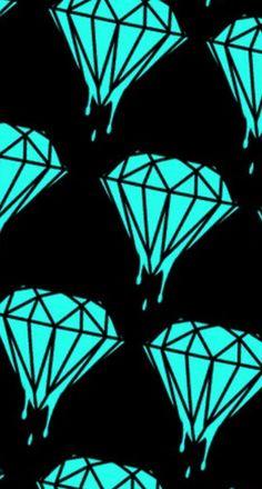 Diamond WallpaperBackground PicsDiamond Supply CoSariBling ...