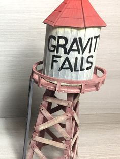 DIY Gravity Falls Silo (with popsicle sticks) Gravity Falls Cast, Gravity Falls Waddles, Gravity Falls Cosplay, Gravity Falls Funny, Thanksgiving Diy, Fall Crafts, Diy And Crafts, Paper Crafts, Fall Art Projects