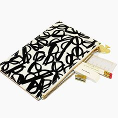Kate Spade Pencil Pouch Set - Literary KSP133237