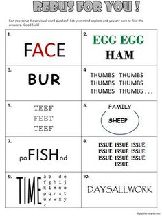 Printable Cryptograms Puzzles