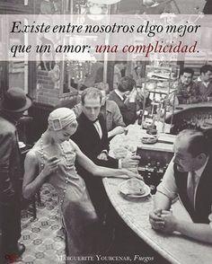 La complicidad es tanta que nuestras vibraciones se complementan...